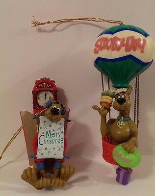 Scooby-Doo ornament lot of 2 Cartoon Newtowk Scooby Doo