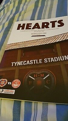 Hearts V Aberdeen Spl Sunday 7Th May2017. Sell Out.mint.