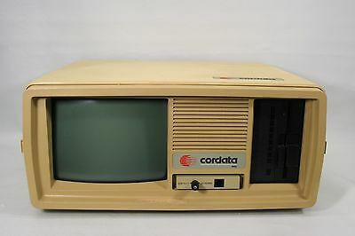 Vintage Cordata Portable PC, AS-IS, for parts