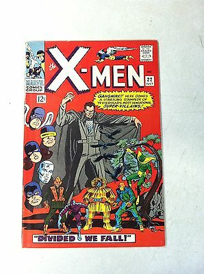 X-Men #22 Divided We Fall, Androids, 1966, Roy Thomas, Beast, Iceman, Angel
