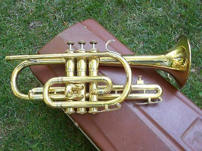 Vintage Olds Ambassador Cornet With Case