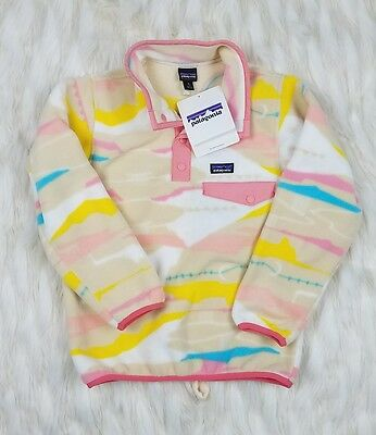 New with Tags Girls Patagonia Sweater Multi Color Size S