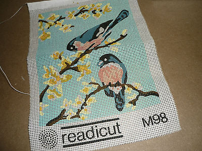 """Redicut - """"two Birds"""" - Tapestry Canvas - New"""