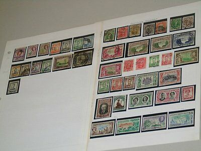 Stamp Pickers British Southern Rhodesia Album Collection Estate Lot