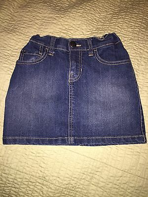 The Children's Place Denim Skirt; Size 6x-7