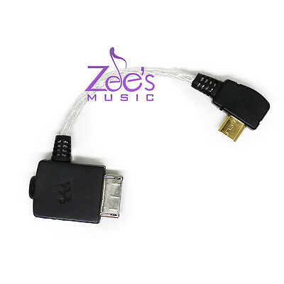 Interconnect Cable OTG Sony A15/A35/A35/ZX1/ZX100/WM1A to Chord Mojo Hugo AMD N5