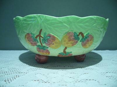 Vintage Shorter & Son Hand Painted Footed Fruit Bowl - Good Condition