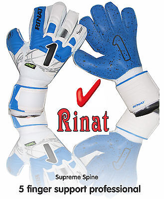 Rinat Supreme Spine 2.0 AD ( blue-wht size 8 ) 5 finger supported