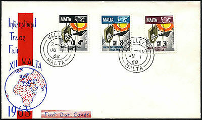 Malta 1968 Int. Trade Fair FDC First Day Cover #C42637