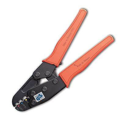 Auto Marine Terminal Ratchet Crimping Tool - Non Insulated Terminals