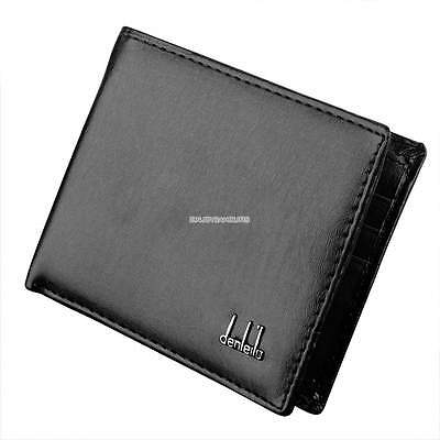 Men's Small Wallet , Slim Soft Leather Card Holder , ID Window ,free Post
