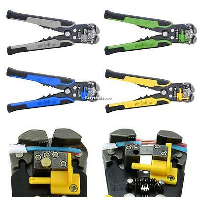 Automatic Wire Stripper Crimper Pliers Cable Cut Stripping Crimping Tool Dint03