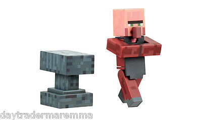 **10 DAY Special**MINECRAFT - Blacksmith Villager With Accessories #16512