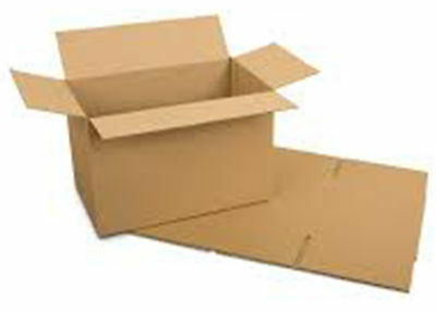 "Cardboard Boxes - 40x20x11cm 16"" Small Packaging Box Brown 16x8x4.5 - 1,5,10,50"