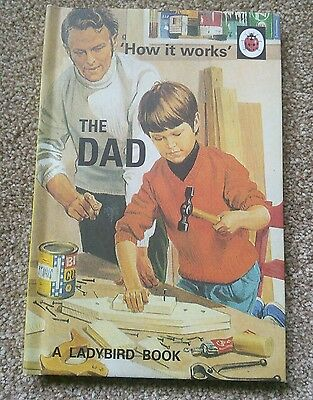 LADYBIRD How It Works The Dad Book NEW