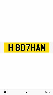 private number plates Botham