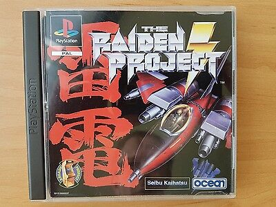 The Raiden Project  PS1 PlayStation - Sehr guter Zustand