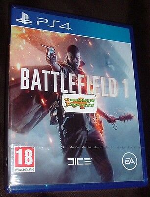 BATTLEFIELD 1 Playstation 4 PS4 NEW SEALED