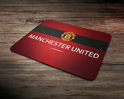 Gaming Mouse Mat - PC - Laptop - Manchester United Mouse Pad - Gift Idea