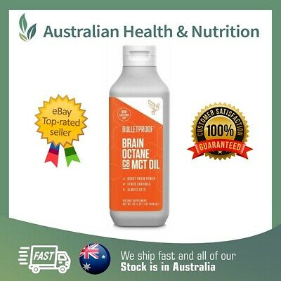 Bulletproof Brain Octane Oil - Optimise Energy And Brain Function + Free Sample