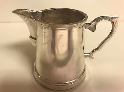 Department 56 Silverplate Pitcher