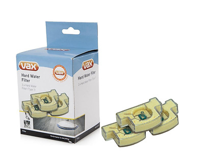 Genuine Vax Hard Water Filter Cartridges For S2, S3 & S7 Steam Mops - Pack of 3