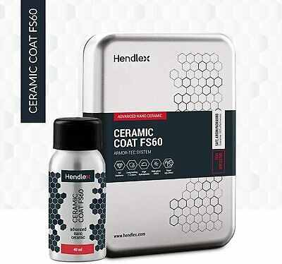 Hendlex CERAMIC COAT FS60 Nano 9h Ceramic Coating For Car Body Paint Protection