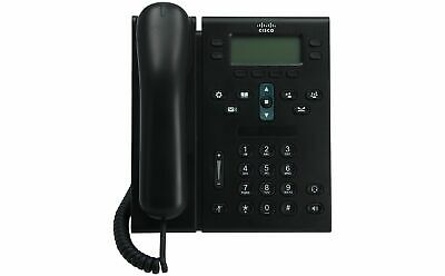 CISCO - CP-6941-C-K9= - Cisco Unified IP Phone 6941, Charcoal, Standard Handset