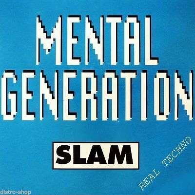 "7"" MENTAL GENERATION feat. REMEE Slam TECHNO BREAKBEAT HARD-CORE DANCE-POOL 1991"