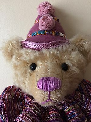 Jolette OOAK Clown Bear By Whittle-Le-Woods Bears.