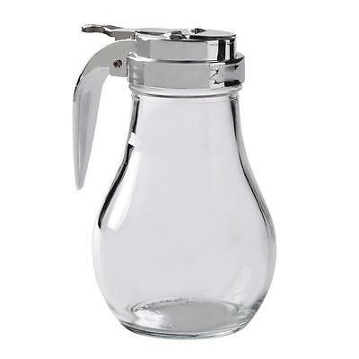 Thunder Group GLTWSY014 Syrup Dispenser with Cast Zinc Top, 14 Ounce