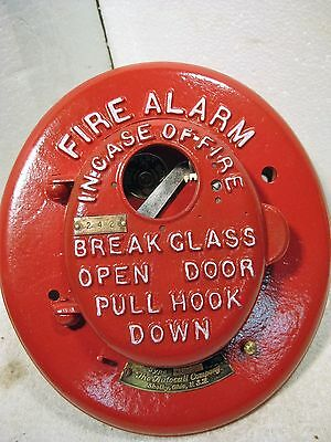 Vintage Auto-Call Break-glass manual coded fire alarm station