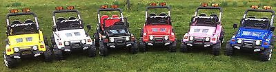 Kids 12V Raptor Electric Ride On Car 4X4 Jeep | 2-Seater | Remote Control | Rc