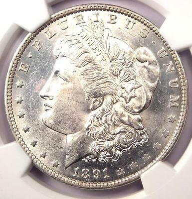 1891-O Morgan Silver Dollar $1 - NGC Uncirculated Detail - Rare Date in UNC/MS!