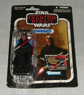 Kenner Hasbro Star Wars Vintage Collection Darth Maul Vc86 Toy Figure Sealed