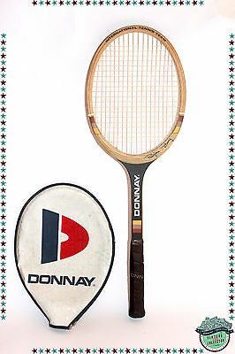 Raquette de tennis vintage Donnay Bjorn Borg international tennis team