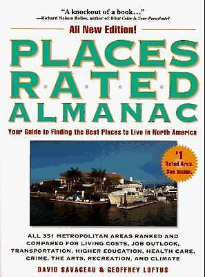 Places Rated Almanac : Your Electronic Guide to Finding the Best Places to...
