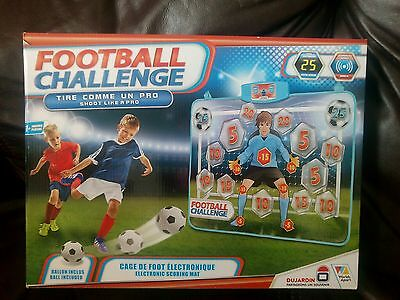 GetGo Football Challenge The Electronic Shooting Game - Multi-Colour * Brand New