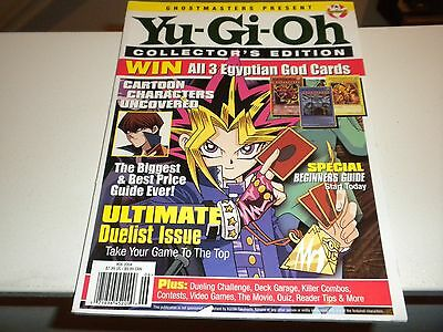 Ghostmasters Present Yu-Gi-Oh Collector's Edition #6 2004 Magazine