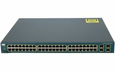 CISCO - WS-C3560G-48TS-S - Catalyst 3560 48 10/100/1000T + 4 SFP Standard Image