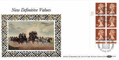 10 SEPTEMBER 1991 24p DEFINITIVE VALUES CYL BENHAM D 168 FIRST DAY COVER WINDSOR