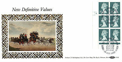 10 SEPTEMBER 1991 28p DEFINITIVE VALUES CYL BENHAM D 168 FIRST DAY COVER WINDSOR