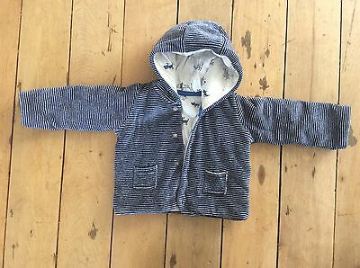 Marks And Spencer Reversible Baby Jacket, 3-6 Months