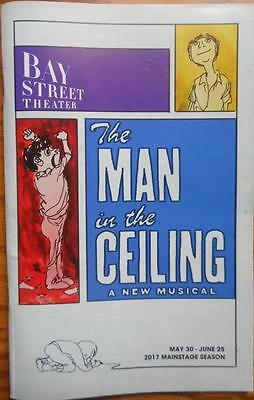 The Man in the Ceiling Playbill  Andrew Lippa  Nicole Parker Bay Street Theater