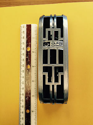 Vintage art deco, repurpose, Vapor fixed thermostat cool looking, NOS