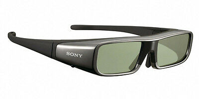 LOT 2X Sony TDG-BR100B Lunettes adultes 3D Actives COMME NEUF