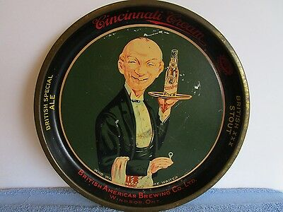 Vintage Original British American Brewing Co. British Special Ale Beer Tray