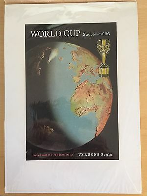 1966 World Cup Original Artwork Vernons Pools REDUCED