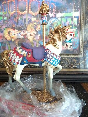 Willitts Carousel Classic  Illions Outside Row Stander  New in Box