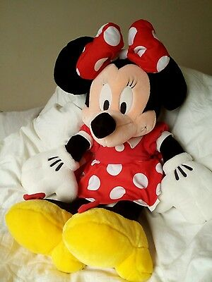 Large Disney Minnie Mouse 16inch 50cm plush toy beany